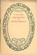 Geschriften van Peter Benoit