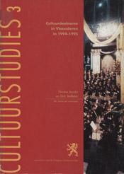 Cultuurdeelname in Vlaanderen in 1994-1995