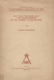 """Het lied """"Pachter Jan"""" van Peter Benoit en de vormen in de muziek"""