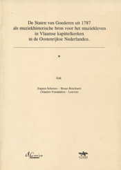 De staten van goederen uit 1787 als muziekhistorische bron voor het muziekleven in Vlaamse kapittelkerken in de Oostenrijkse Nederlanden 1