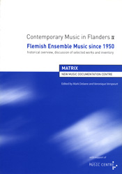 Contemporary Music in Flanders IV