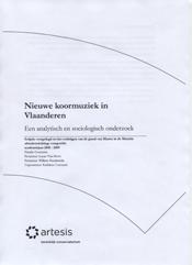 Nieuwe koormuziek in Vlaanderen