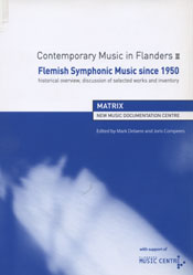 Contemporary Music in Flanders III