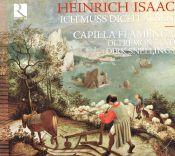 Capilla Flamenca, Dirk Snellings, Oltremontano, Heinrich Isaac - Heinrich Isaac - Ich muss dich lassen (CD album scan)