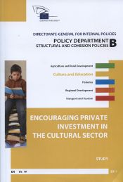 Encouraging private investment in the cultural sector