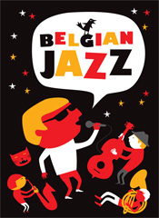 Belgian Jazz 2013 booklet