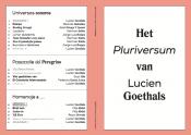 Het Pluriversum van Lucien Goethals