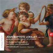 Jean Baptiste Loeillet - Six suites for harpsichord